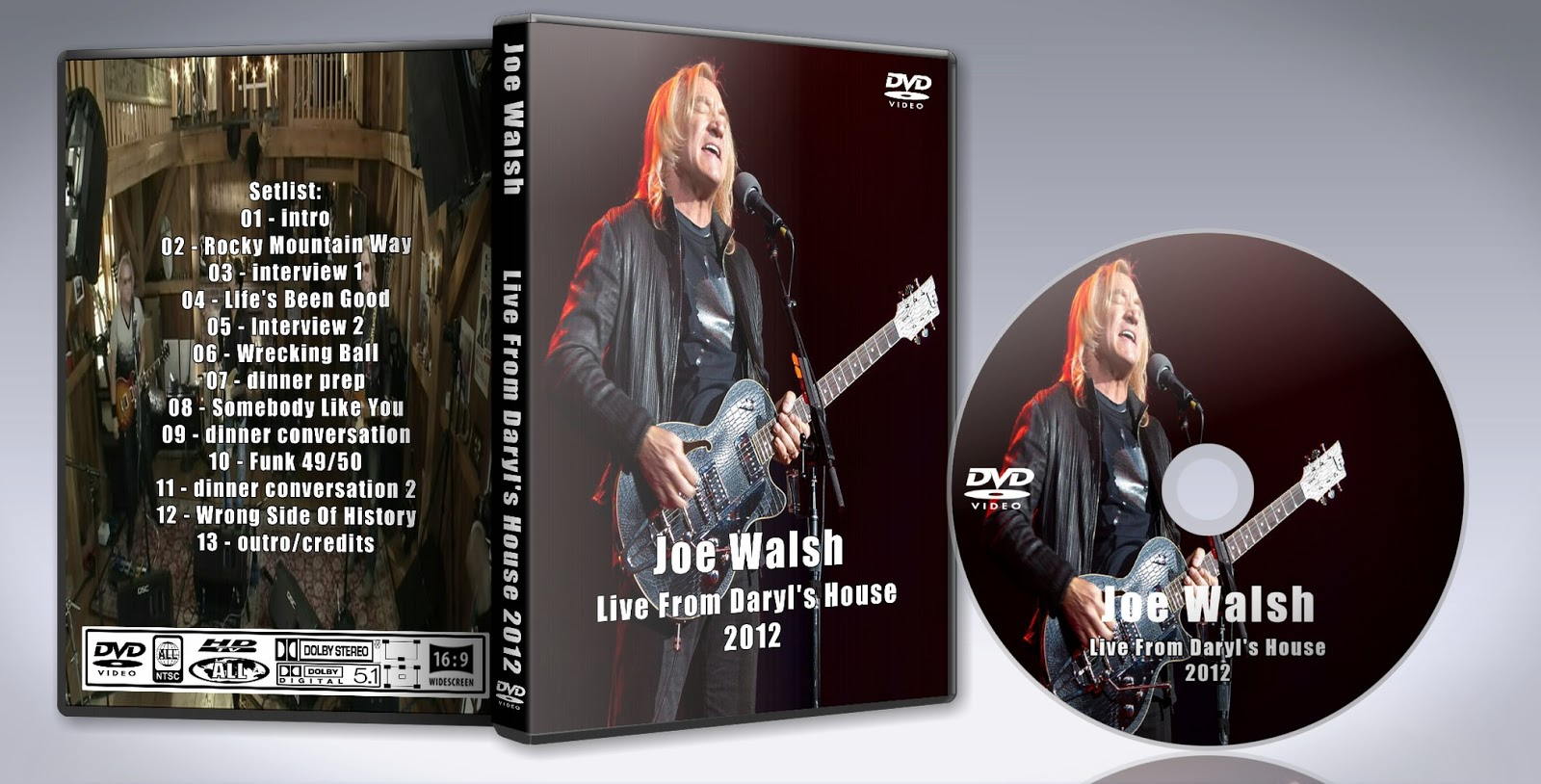 deer5001rockconcert: joe walsh - live from daryl's house 2012