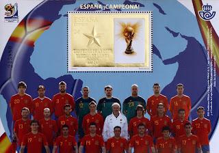 ESPAÑA CAMPEONA DE LA COPA MUNDIAL DE LA FIFA 2010