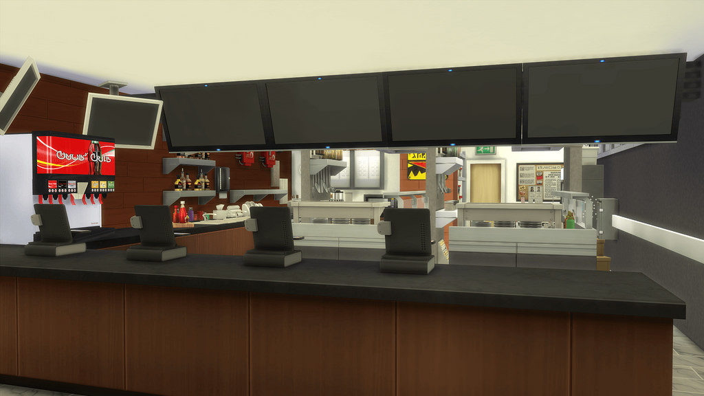 soda machine restaurant
