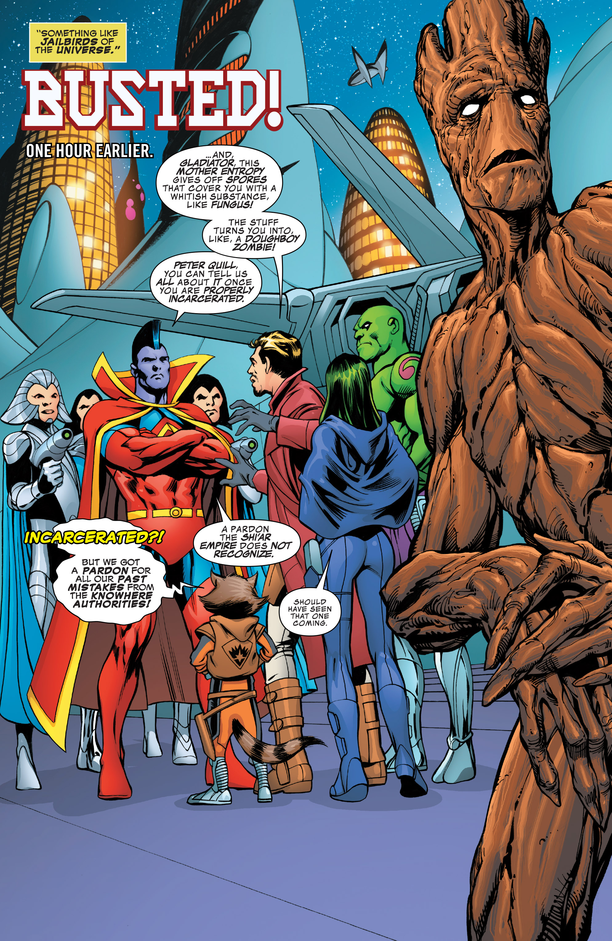 Read online Guardians of the Galaxy: Mother Entropy comic -  Issue #4 - 4