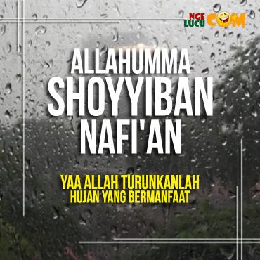 DP BBM Doa Hujan Bergerak
