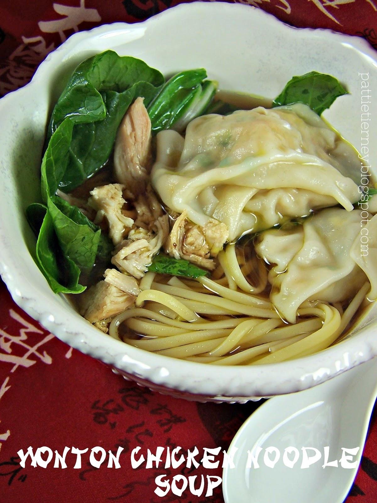 Olla Podrida Wonton Chicken Noodle Soup