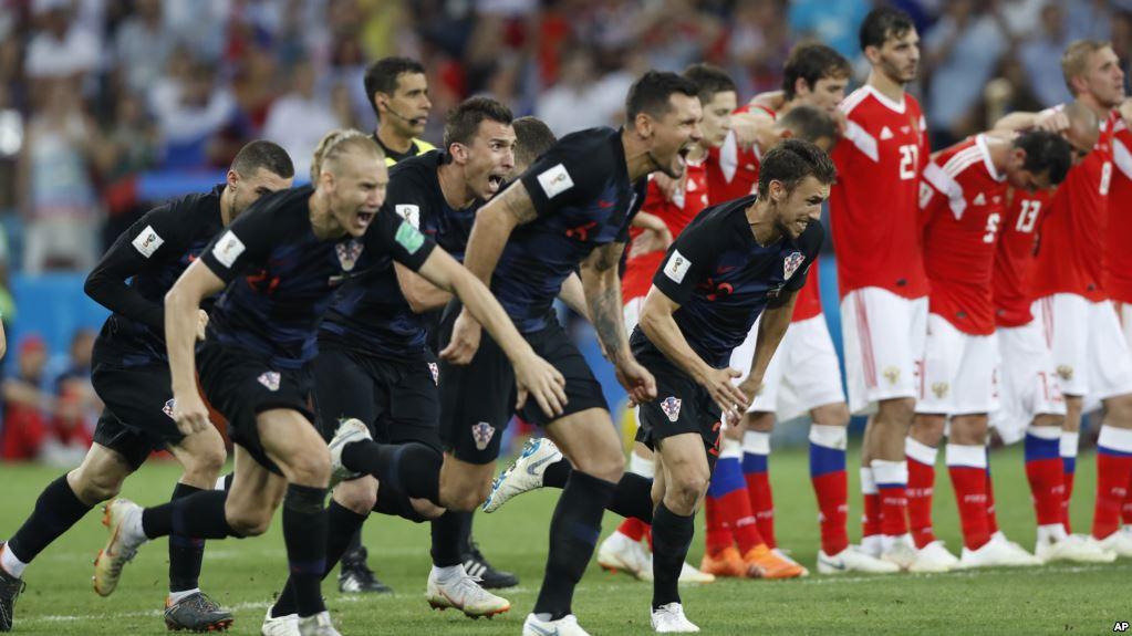 Croacia volvió a vencer en la tanda de penales / AP