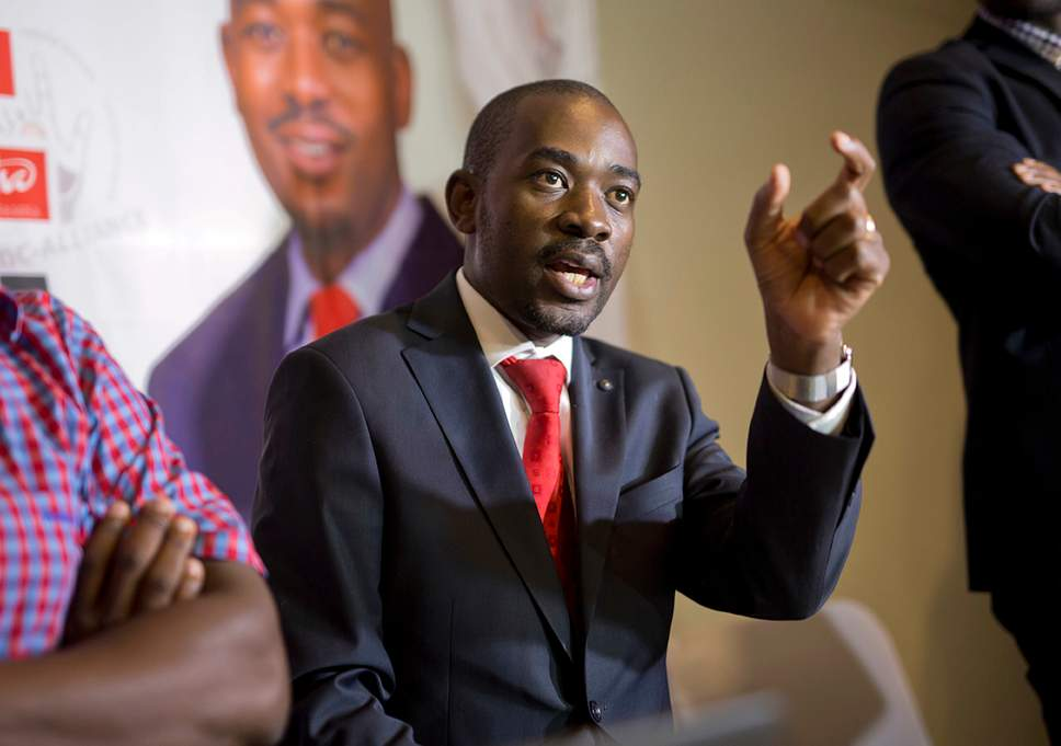 Chamisa Alleged To Be Pushing For Prime Minister's Post Ahead Of MDC Emergency Meeting