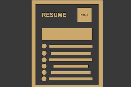 Cara Bikin CV Lamaran Kerja Online Pakai Metode Ampuh