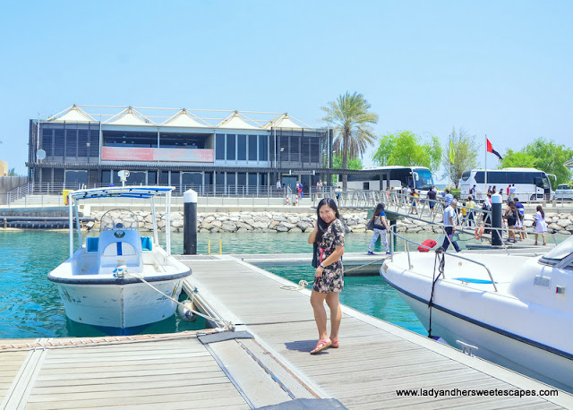 Sir Bani Yas Island jetty