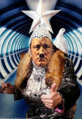 Daumen hoch - lustige Diktator Bilder Traumfigur