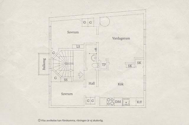 plan de amenajare pentru un apartament de 3 camere