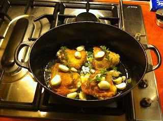 Moestuin Recept - Kip met 24 tenen Knoflook