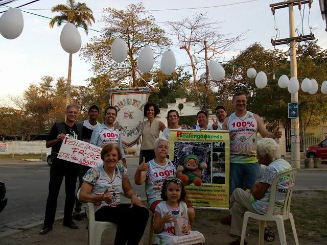 Movimento Parque Realengo Verde comemora aniversário