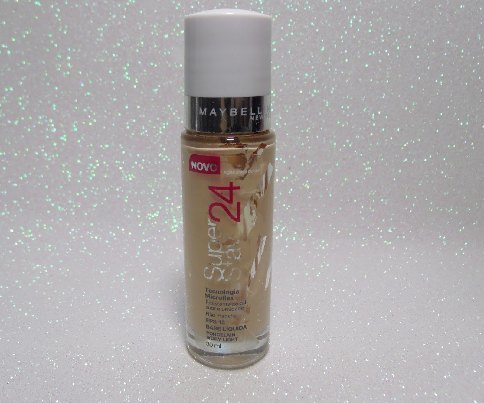 RESENHA:BASE SUPER STAY 24 HORAS DA MAYBELLINE.