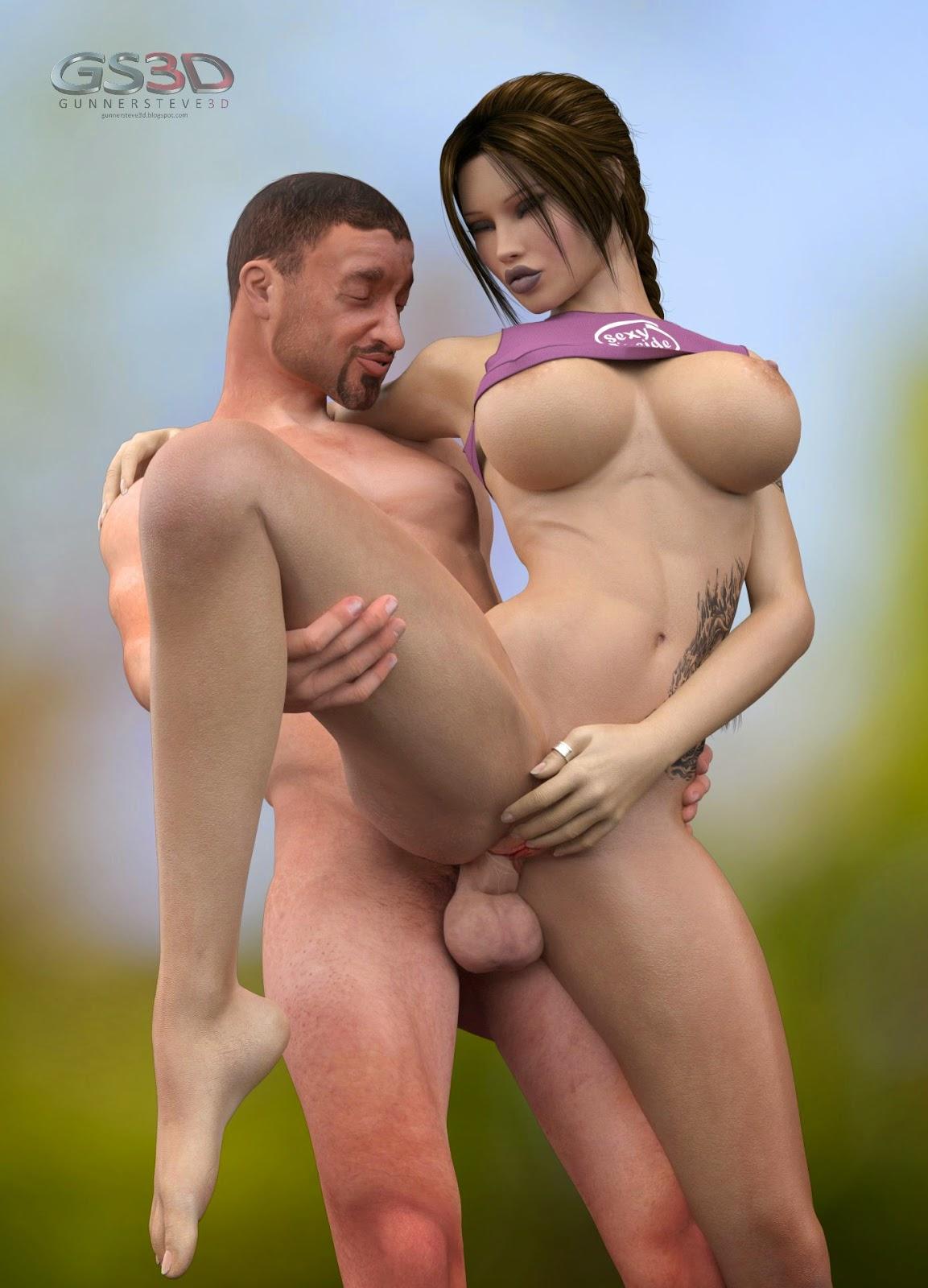 lara croft big tits porn