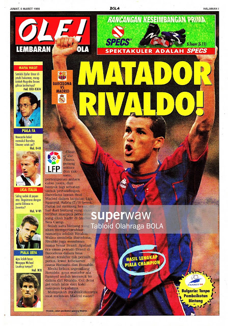 BARCELONA VS REAL MADRID 1998 RIVALDO