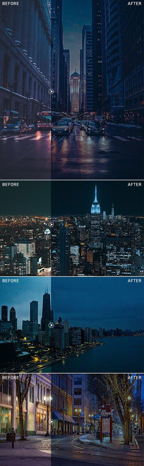 Nightscape Photoshop Action 27482491 Free