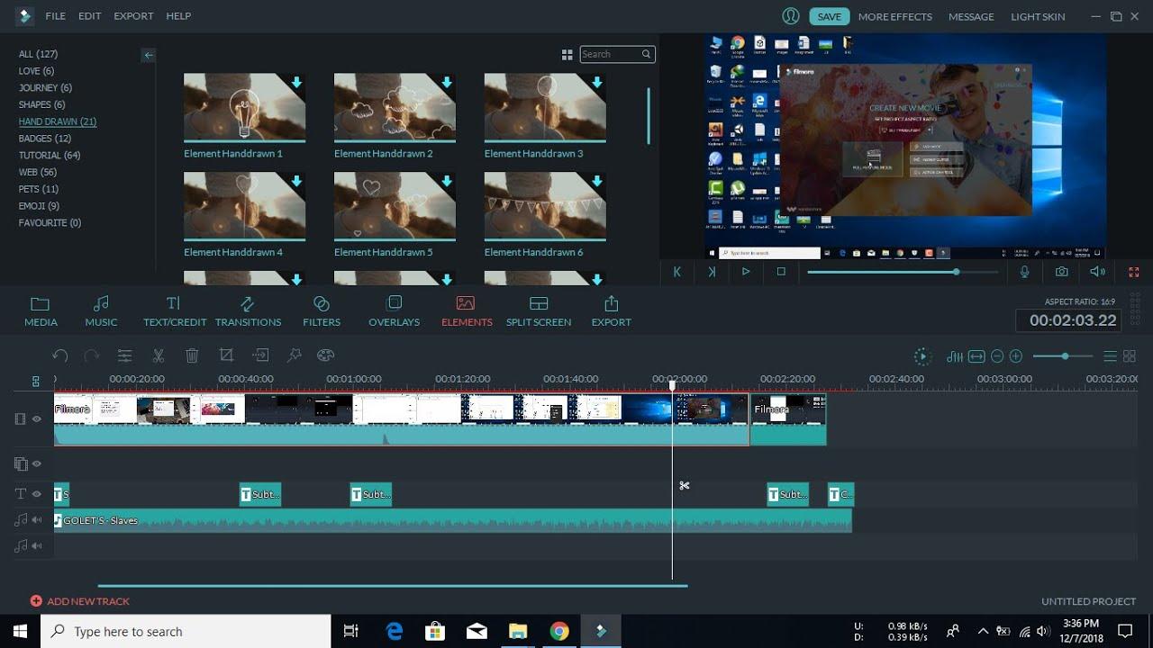 filmora video editor windows 10 crack