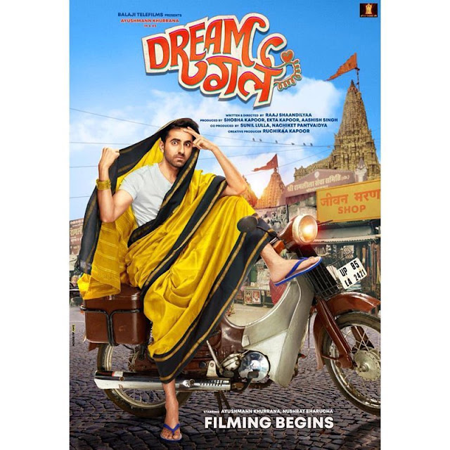 full cast and crew of Bollywood movie Dream Girl 2019 wiki, Ayushman Khurrana, Nushrat Bharucha The Great story, release date, Dream Girl wikipedia Actress name poster, trailer, Video, News, Photos, Wallpaper, Wikipedia