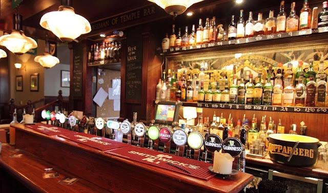 Bares e Pubs românticos em Dublin