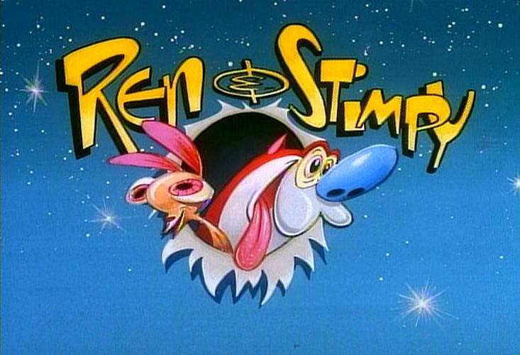 The Dork Review Rob S Room Ren Amp Stimpy