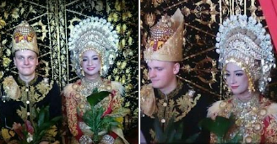 bule norwegia menikahi gadis aceh