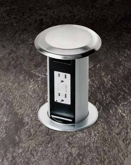 Pop Up Outlets For Kitchen