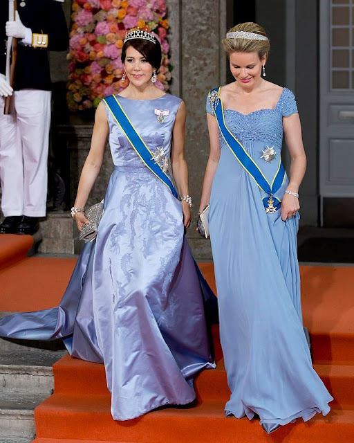 Queen Mathilde Amp Crown Princess Mary Newmyroyals