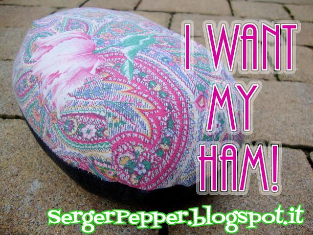 Sewing Supplies DIY - Pressing tools: Tailor's ham SergerPepper
