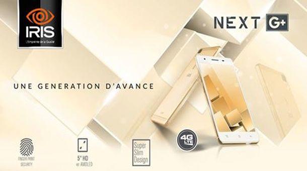 """شركة IRIS تكشف رسميا عن هاتفها """"+IRIS NEXT G"""".. السعر والمواصفات"""
