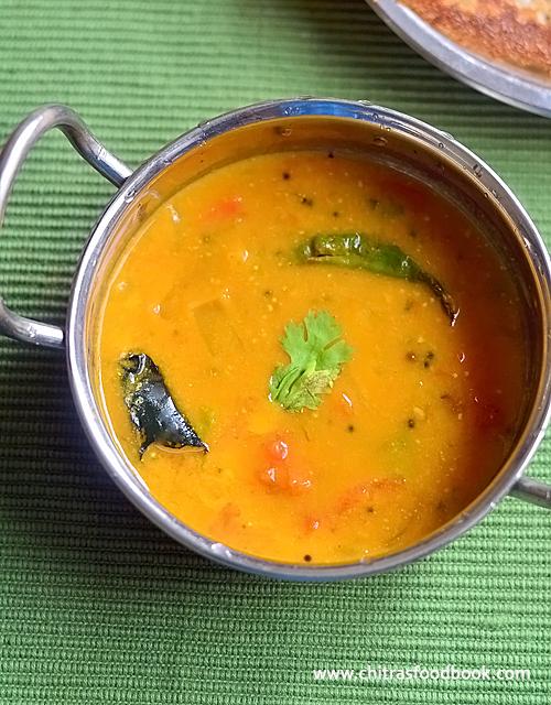 Cucumber Sambar For Rice, Dosa & idli - Easy Cucumber ...