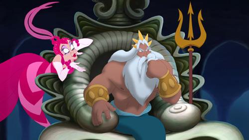 Marina Del Rey The Little Mermaid 3 2008 animatedfilmreviews.filminspector.com