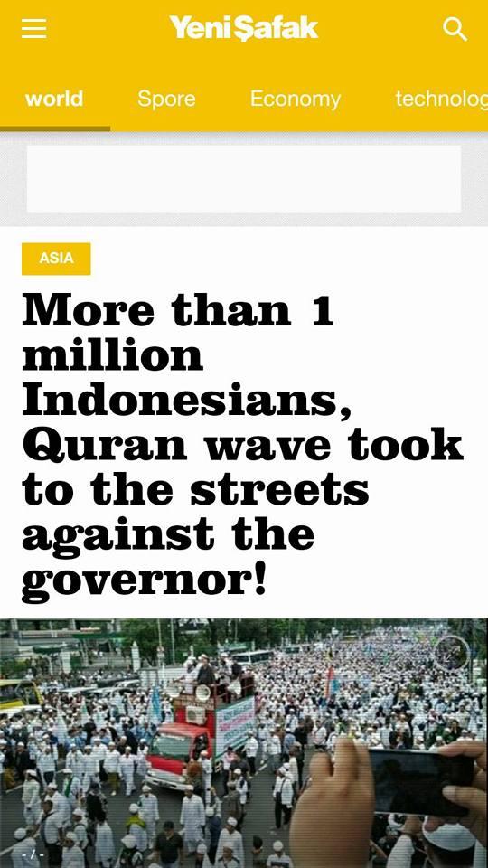 vAkankah Dunia Menilai Indonesia Pelindung Penista Agama?