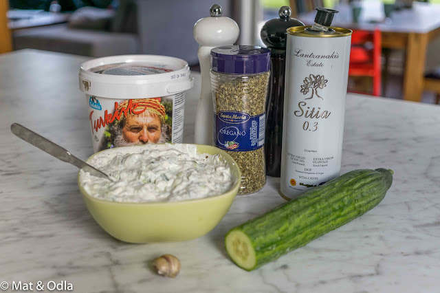 ingredienser tzatziki