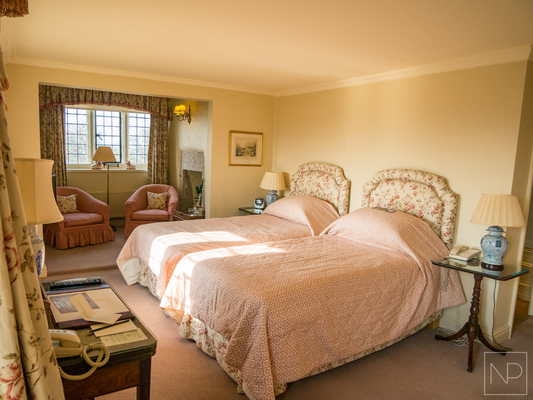 Bodysgallen Hall Hotel Bedrooms with views of Snowdonia