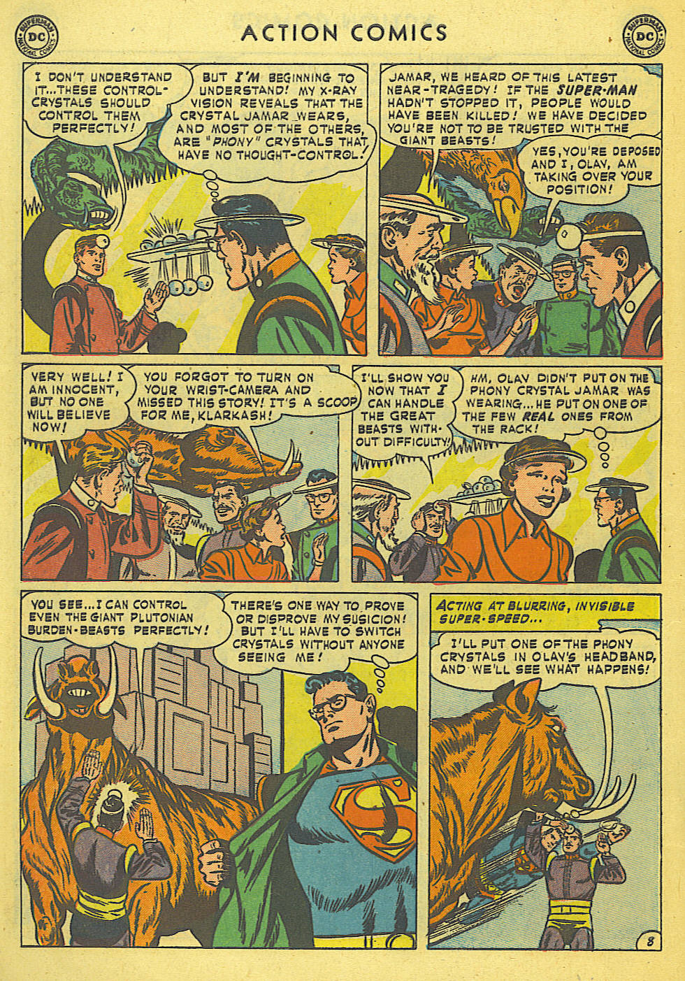 Read online Action Comics (1938) comic -  Issue #168 - 9