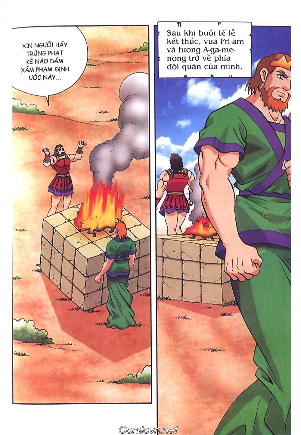 Thần Thoại Hy Lạp Màu - Chapter 57: Cuộc chiến định mệnh - Pic 30