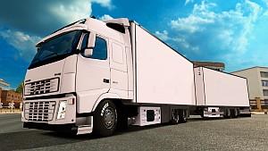 Volvo FH16 + Tandem trailer & Swedish Pride