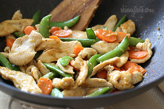 Paleo Chicken and Snow Pea Pasta