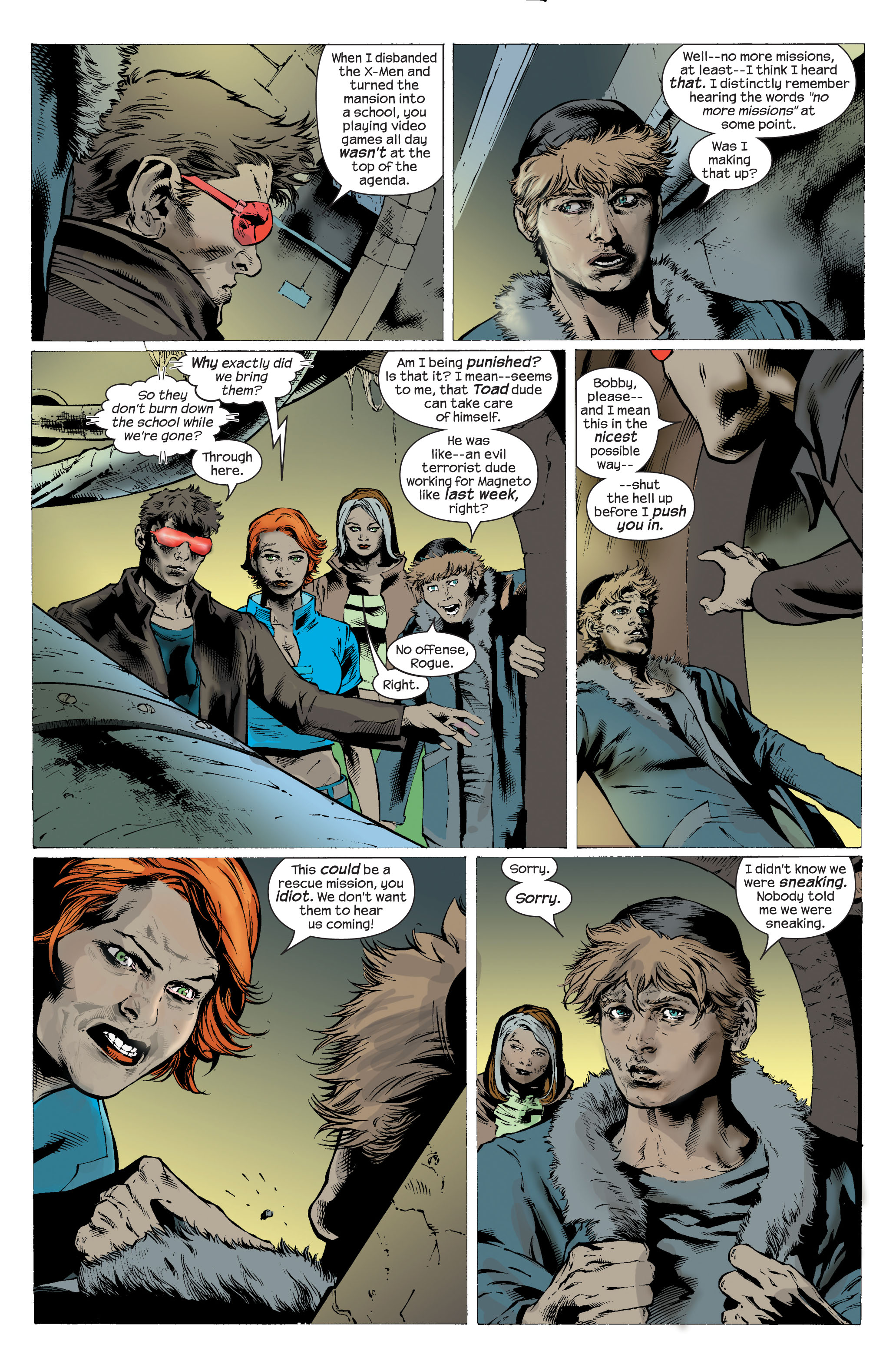 Read online Ultimate X-Men comic -  Issue #83 - 3