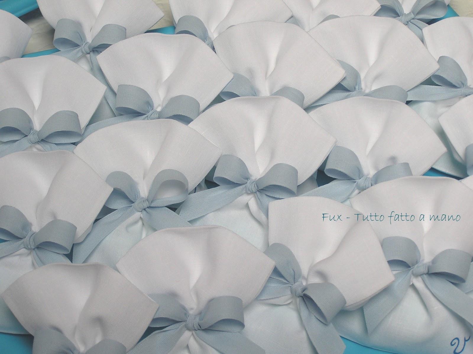 Famoso Fux - tutto fatto a mano: BOMBONIERE BATTESIMO DU65