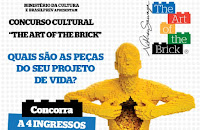 Concurso Cultural 'The art of the brick' Brasilprev