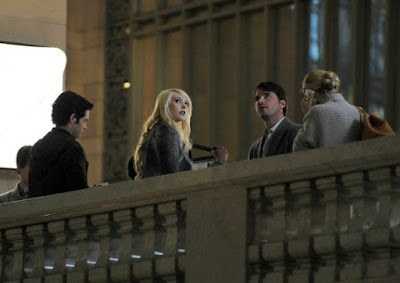 Gossip Girl Grand Central Jenny leaving