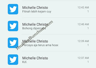 tweet michelle christo jkt48