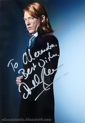 Domhnall Gleeson - Autograf - Autograph - Harry Potter - Bill Weasley
