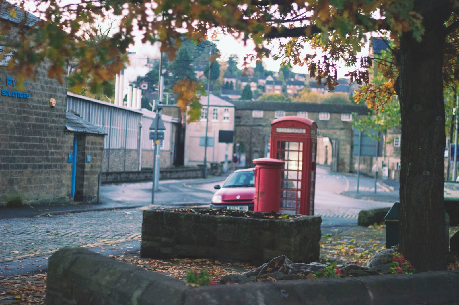 Belper, Derbyshire, The Triangle Belper, British Telephone Box, Traditional Phone Box, BT Phone Box, Lifestyle Bloggers, Derbyshire Bloggers, Katie Writes,