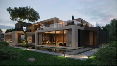 Proyecto de casa minimalista en montevil for Proyectos casas minimalistas