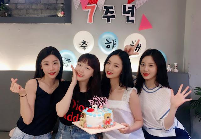Anniversary ke 7 Girls Day