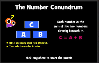 http://www.mathplayground.com/number_conundrum_whole.html
