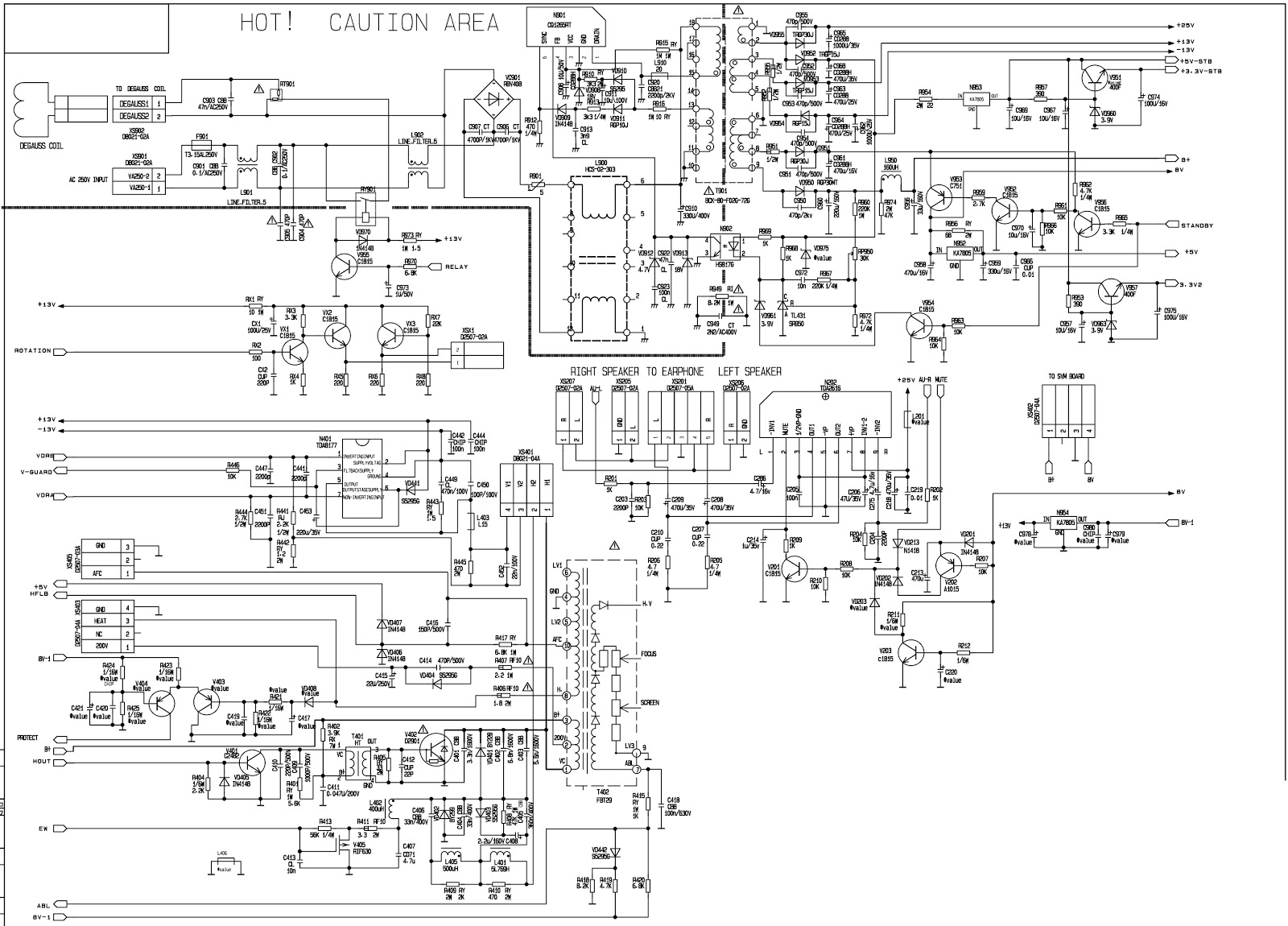 Schematic Circuit Diagram Str - Wiring Diagrams Show