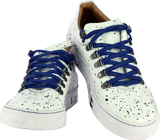 Alberto Torresi Valencia WHITE+BLUE Casual Shoes. Price- Rs. 2,095