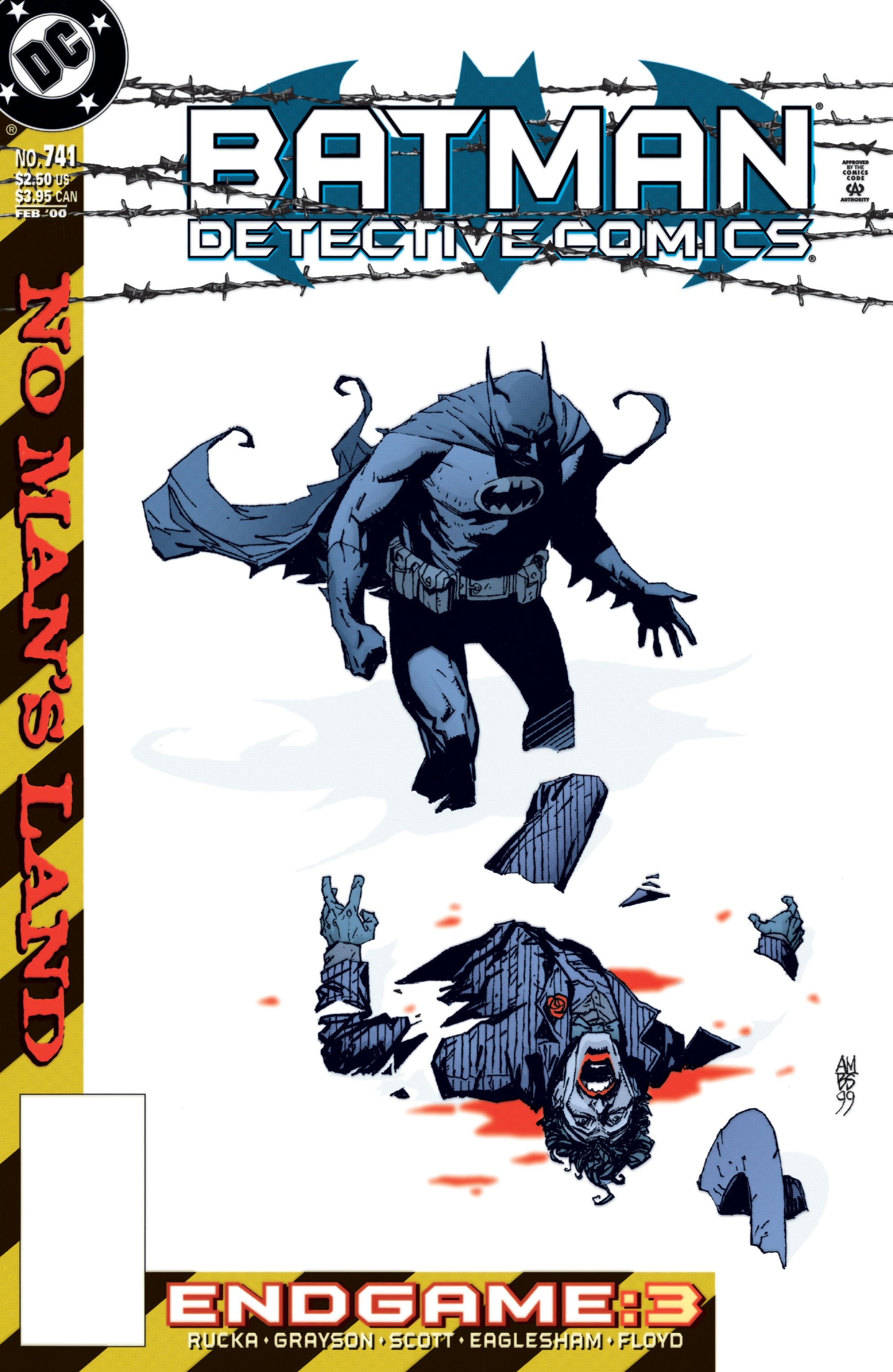 Detective Comics (1937) 741 Page 0