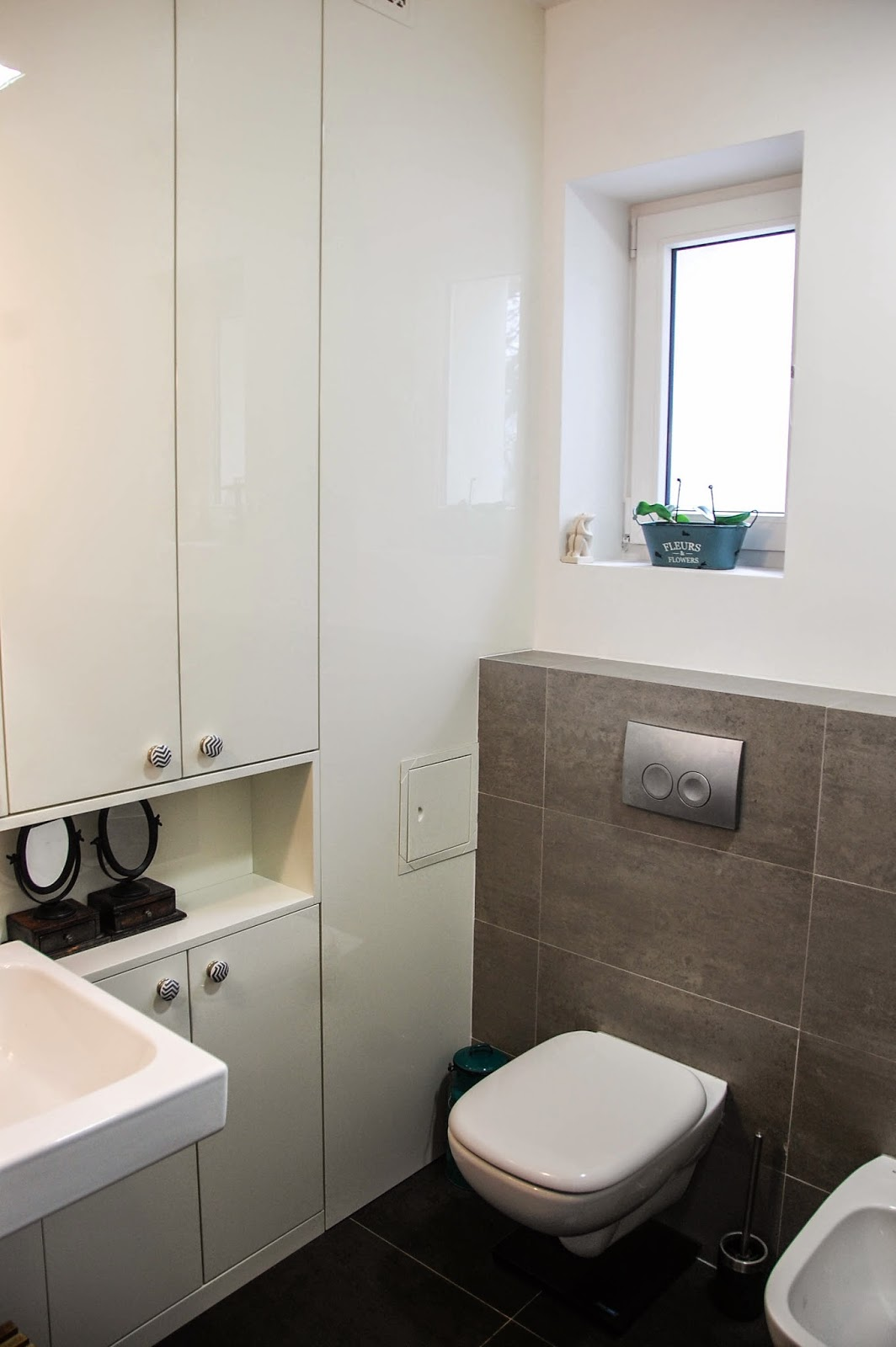 Zapętlona: Metamorfoza małej łazienki, 4 m2